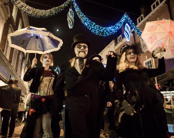 Voodoo Victorian Procession!